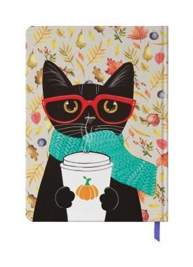 پلنر رنگی مسترنوت طرح گربه و قهوه